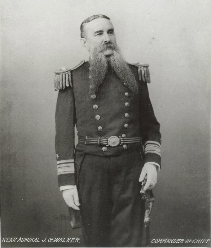 REAR ADMIRAL JOHN GRIMES WALKER, James's Father
